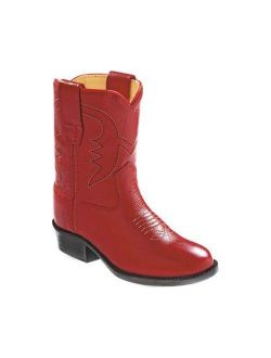 Infant Old West Fancy Stitch Round Toe Western Boot - Toddler