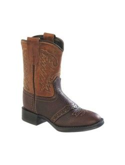 Infant Old West Round Toe Western Cowboy Boot - Toddler