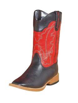 DBL Barrel 4452001-13 Toddler Zip Trailboss Boot, Black - Size 13
