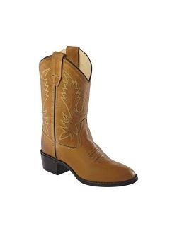 Children's Old West Round Toe Western Cowboy Boot - Youth