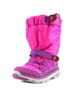 M2p Sneaker Boot Youth Round Toe Canvas Pink Winter Boot