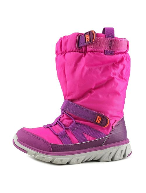 Stride Rite M2P Sneaker Boot Youth Round Toe Canvas Pink Winter Boot