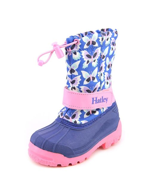 Hatley Dragon Youth Round Toe Canvas Winter Boot
