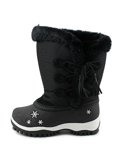Baffin Cadee Round Toe Canvas Winter Boot