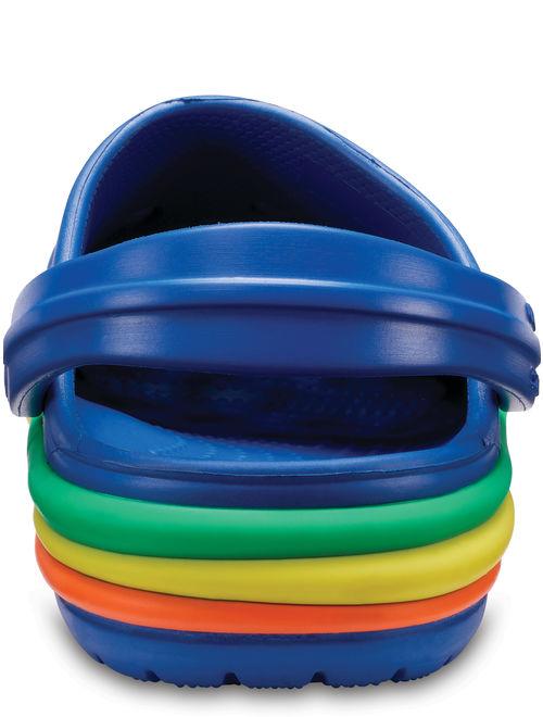 Crocs Unisex Child CB Rainbow Band Clog