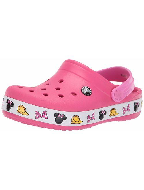 Crocs Girls' Child Crocband Minnie Clogs