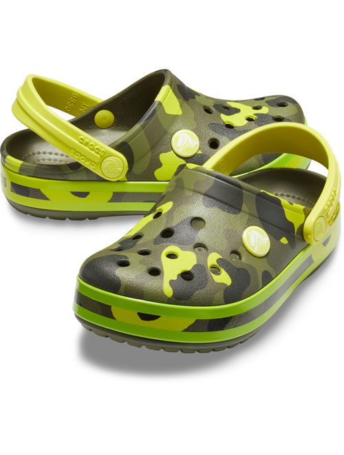 Crocs Unisex Child Crocband MultiGraphic Clog (Ages 1-6)