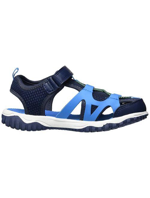 Carter'S Zyntec Navy Ankle-High Nylon Athletic Sandal - 3M