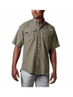 Men's Pfg Bahama Ii Short Sleeve Shirt, Sage, Xlt