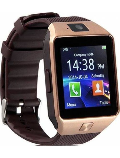 Gold Bluetooth Smart Wrist Watch Phone mate for Android Samsung HTC LG Touch Screen with Camera