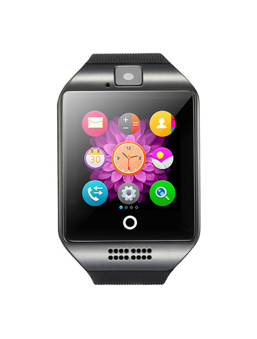 Black Bluetooth Smart Wrist Watch Phone mate for Android Samsung Touch Screen Blue Tooth SmartWatch with Camera for Adults for Kids (Supports [does not include] SIM+MEMOR