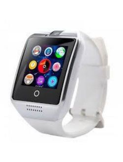 Gx1 Premium White Bluetooth Smart Wrist Watch Phone Mate For Android Samsung Htc Lg Touch Screen With Camera