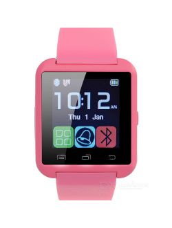 Luetooth Smart Wrist Watch Phone Mate For Android Samsung Htc Lg Touch Screen Blue Tooth Smart Watch For Kids For Adults Amazingforless U8