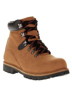 Men's Red Lace Hiker Boot
