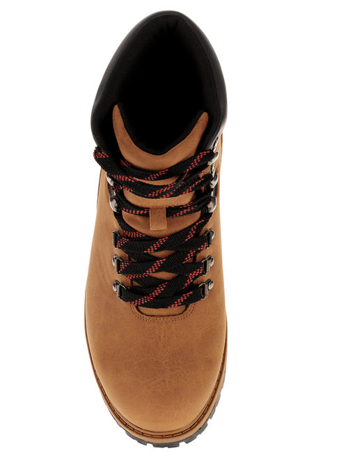 Ozark Trail Men's Red Lace Hiker Boot