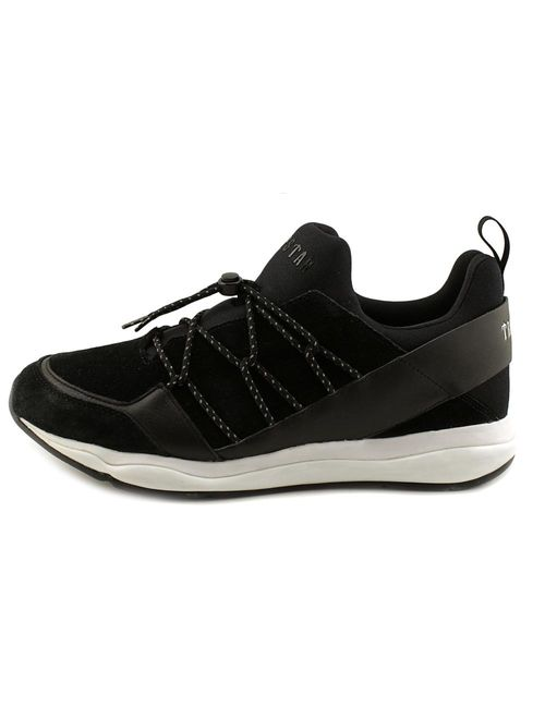 Puma Men's Cell Bubble X Trapstar Black / White Ankle-High Suede Running Shoe - 9.5M