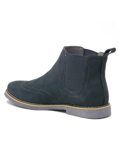 alpine swiss chelsea boots