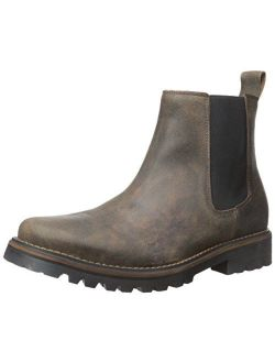 Dr. Scholl's Men's Ripley Chelsea Boot, Syrup Leather, 8.5 M US
