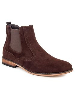 Gino Vitale Men's Lounge Chelsea Boots with Zip