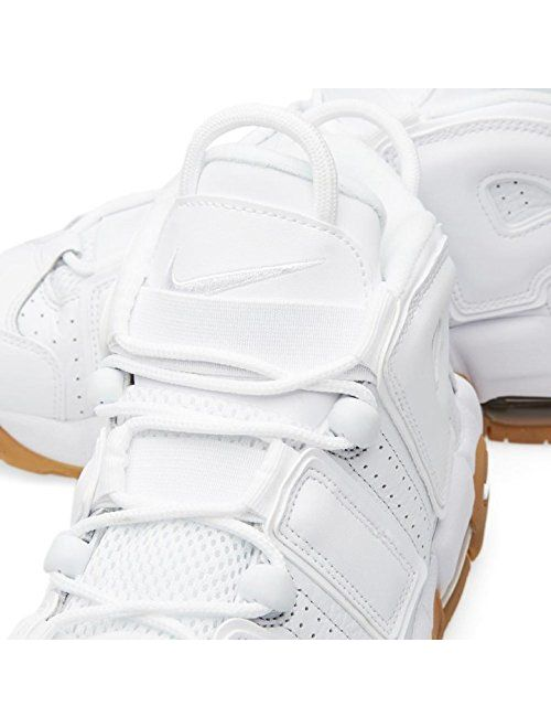 Nike Air More Uptempo (Gum) White/White-BMB-Gm Lght BRWN