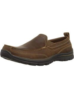 Men's Relaxed Fit Memory Foam Superior Gains Slip-on