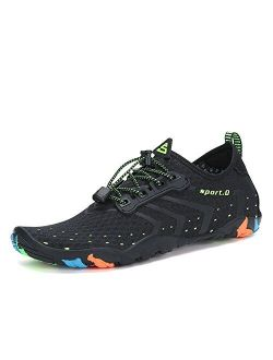 Unisex Quick Dry Barefoot For Swim Diving Surf Ultra Light Weight Water Shoes
