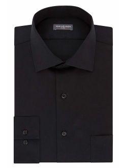 Men's Tall Fit Dress Shirts Flex Collar Stretch Solid (big And Tall)
