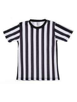 Mato & Hash Children's Referee Shirt Ref Costume Toddlers Kids Teens