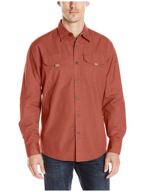 Wrangler Authentics Men's Long Sleeve Cotton Shirt