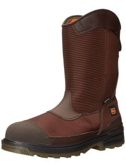 Pro Men's Mortar Pull-on Csa Composite-toe Waterproof Work And Hunt Boot