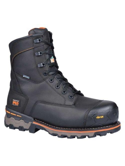 "Men's Timberland PRO Boondock 8"" Composite Safety Toe Waterproof Boot"