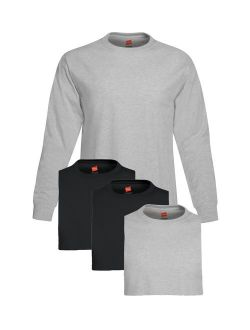 Mens 5.2 Oz. Comfortsoft Cotton Long-sleeve T-shirt (5286)
