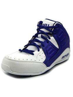 Rocket 4 Round Toe Leather Basketball Shoe