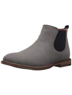 Madden Mens M-Graye Almond Toe Ankle Chelsea Boots