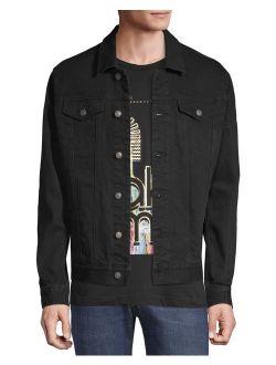 Men's And Big Men's Stretch Denim Jacket