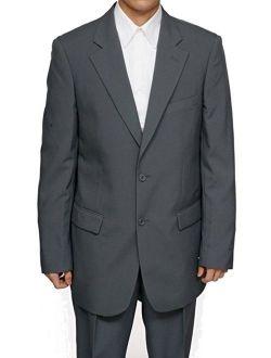 Mens Gray (Grey) Dress Suit - Includes Jacket & Pants