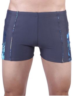 Mens Compression Quick Dry Rapid Jammers Splice Square Leg Shorts Undwear Swimsuit Beachwear