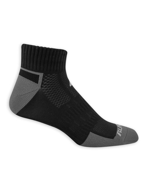 Russell Athletic Performance Men's COOLFORCE Zone Cushion Low Cut Socks 3 Pack