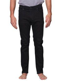 Victorious Men's Skinny Fit Color Stretch Jeans DL937 - BLACK - 28/30