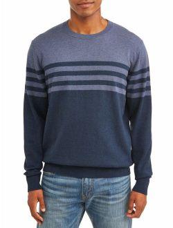 Men's Striped Pullover Sweatshirt