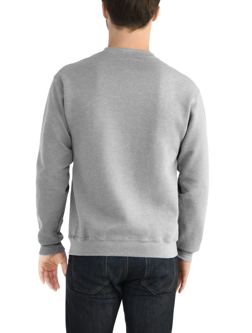 Fruit of the Loom Men's EverSoft Fleece Crew Sweatshirt