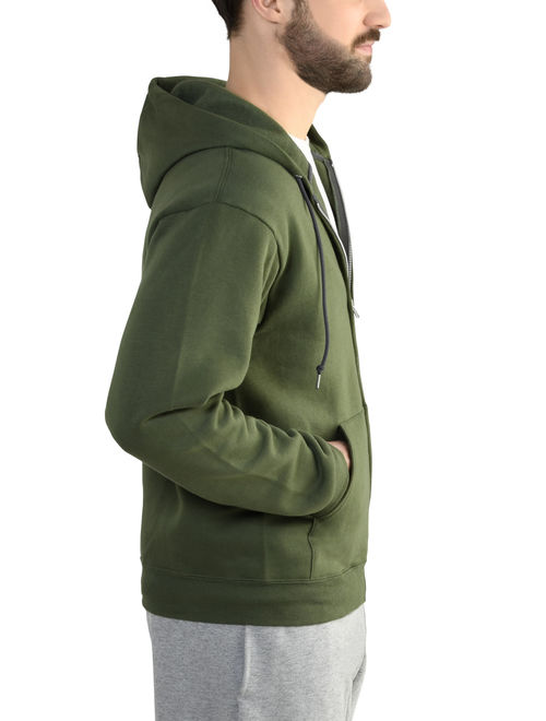 Fruit of the Loom Men's EverSoft Fleece Full Zip Hoodie Jacket
