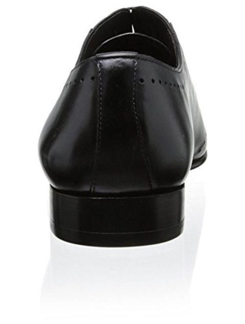 Mezlan Men's Detailed Oxford, Black, 11 M US