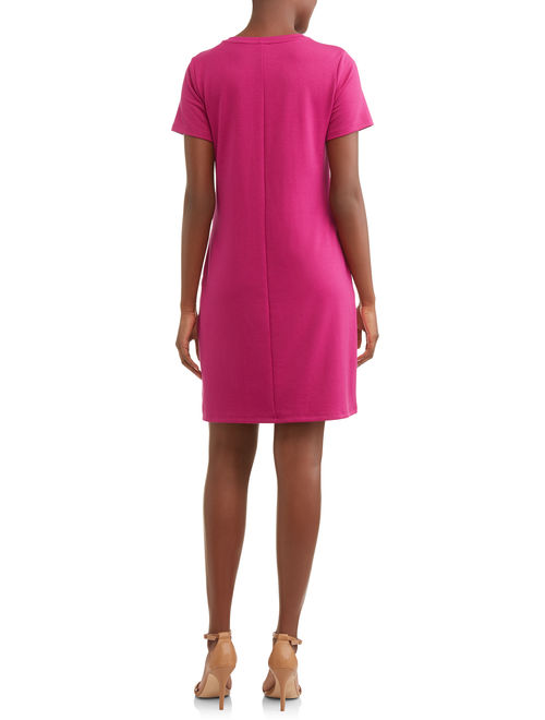 Time and Tru Women's French Terry Dress