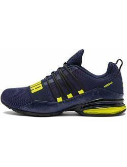 Men's Cell Regulate Sneaker, Peacoatyellow Alert, 11.5 M Us