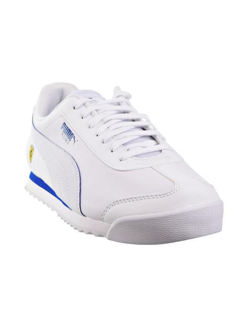 Puma SF Roma Ferrari Mens Shoes White/Galaxy Blue 306083-11