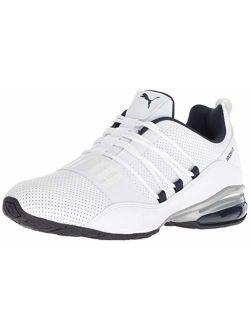 Men's Cell Regulate Sl Sneaker, White Black-peacoat Silver, 14 M Us
