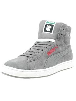 Rs X Undefeated Micro-dot Fashion Sneakers Steel Grey 353526 02