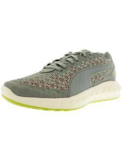 Men's Ignite Ultimate Layered Quarry/pink Glow Ankle-high Running Shoe - 6m