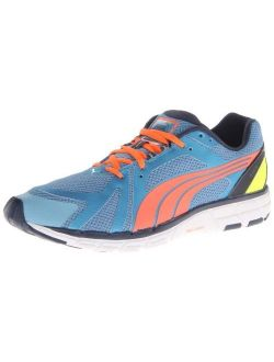 Men's Faas 600 S Running Shoe,metallic Blue/insignia Blue/coral/fluorescent Yellow,8.5 M Us